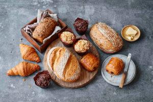 Selection box of artisan bread